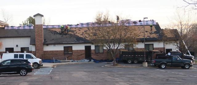 屋根の交換 ひょうの被害