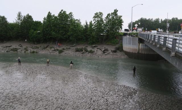 Anchorage サーモン釣り