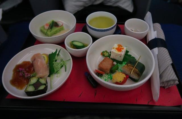 ユナイテッド航空のビジネスクラス 成田 デンバー