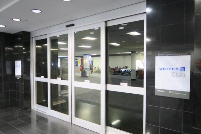 ユナイテッド航空 ラウンジ IAD ワシントン・ダラス国際空港 IAD