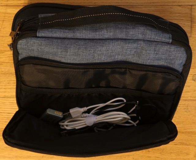 BAGSMART 3-Layer Travel Electronics Cable Organizer