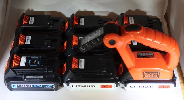 Black and Decker 20V バッテリー